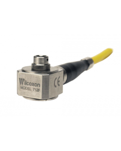 High frequency sensor with integral cable