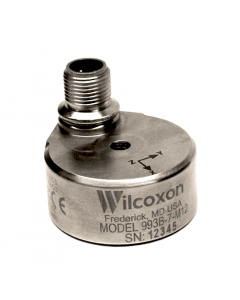 Hazardous area certified triaxial accelerometer